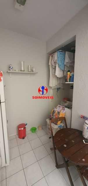 ÁREA DE SERVIÇO - Apartamento 1 quarto à venda Tijuca, Rio de Janeiro - R$ 430.000 - TJAP10260 - 12