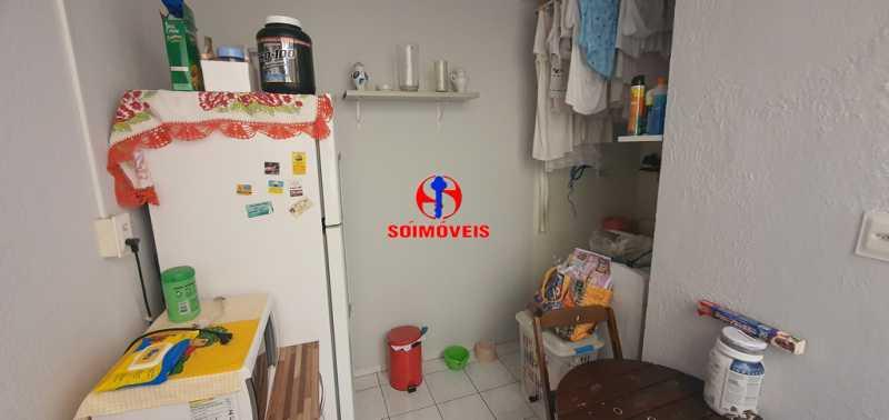 ÁREA DE SERVIÇO - Apartamento 1 quarto à venda Tijuca, Rio de Janeiro - R$ 430.000 - TJAP10260 - 14