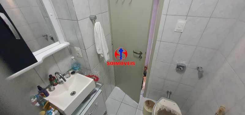 BANHEIRO - Apartamento 1 quarto à venda Tijuca, Rio de Janeiro - R$ 430.000 - TJAP10260 - 13