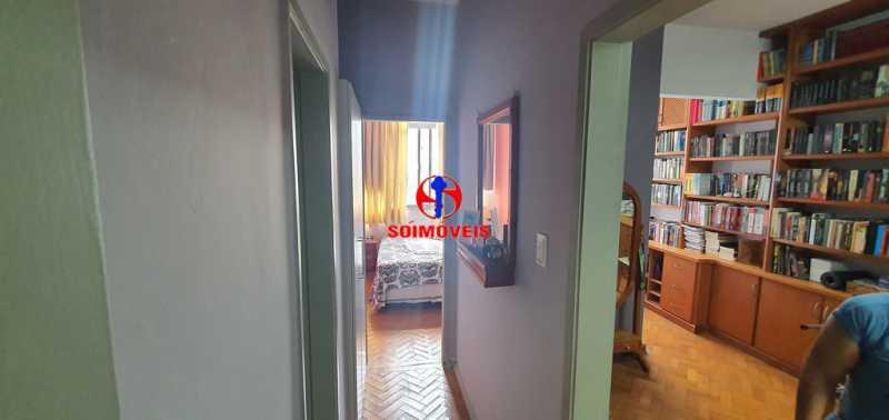 CORREDOR - Apartamento 1 quarto à venda Tijuca, Rio de Janeiro - R$ 430.000 - TJAP10260 - 11