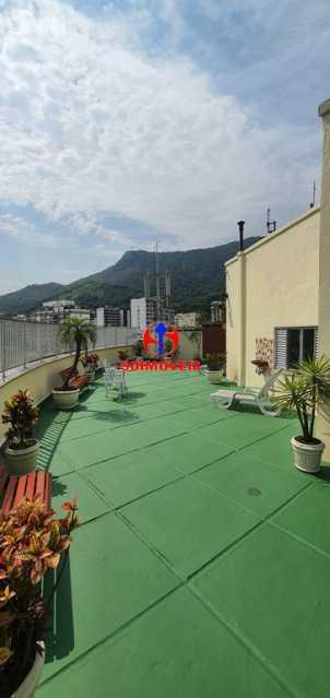 ÁREA EXTERNA DO PRÉDIO - Apartamento 1 quarto à venda Tijuca, Rio de Janeiro - R$ 430.000 - TJAP10260 - 23