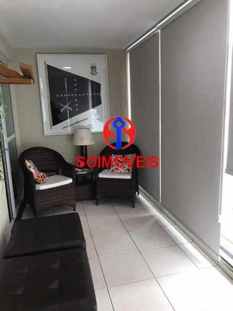 Varanda - Apartamento 2 quartos à venda Andaraí, Rio de Janeiro - R$ 550.000 - TJAP21181 - 4