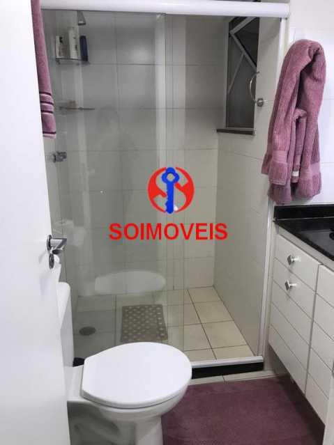 Banheiro da suíte - Apartamento 2 quartos à venda Andaraí, Rio de Janeiro - R$ 550.000 - TJAP21181 - 16