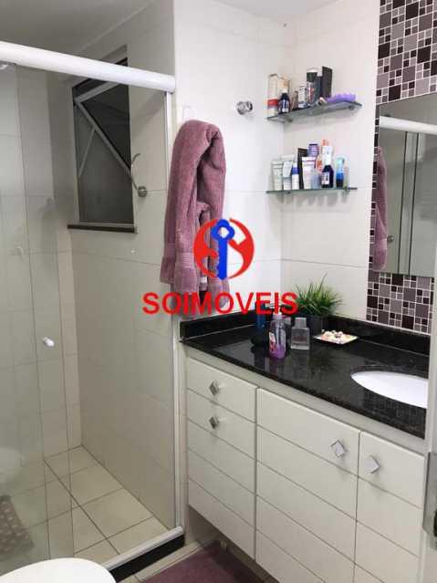 Banheiro da suíte - Apartamento 2 quartos à venda Andaraí, Rio de Janeiro - R$ 550.000 - TJAP21181 - 15