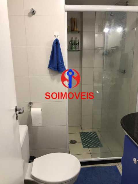 Banheiro social - Apartamento 2 quartos à venda Andaraí, Rio de Janeiro - R$ 550.000 - TJAP21181 - 18