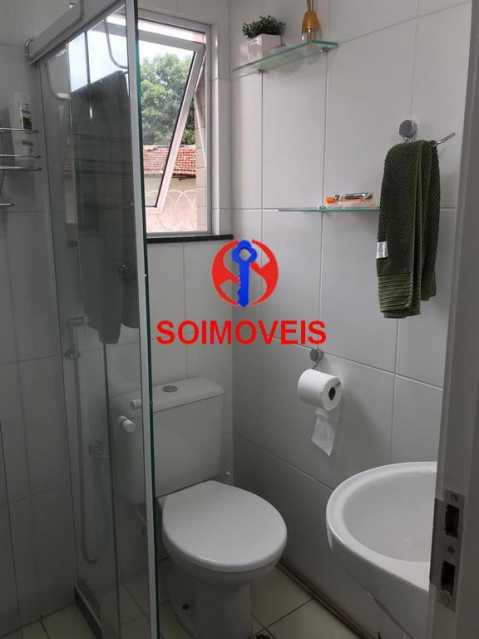 Banheiro de serviço - Apartamento 2 quartos à venda Andaraí, Rio de Janeiro - R$ 550.000 - TJAP21181 - 19