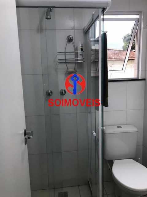Banheiro de serviço - Apartamento 2 quartos à venda Andaraí, Rio de Janeiro - R$ 550.000 - TJAP21181 - 20