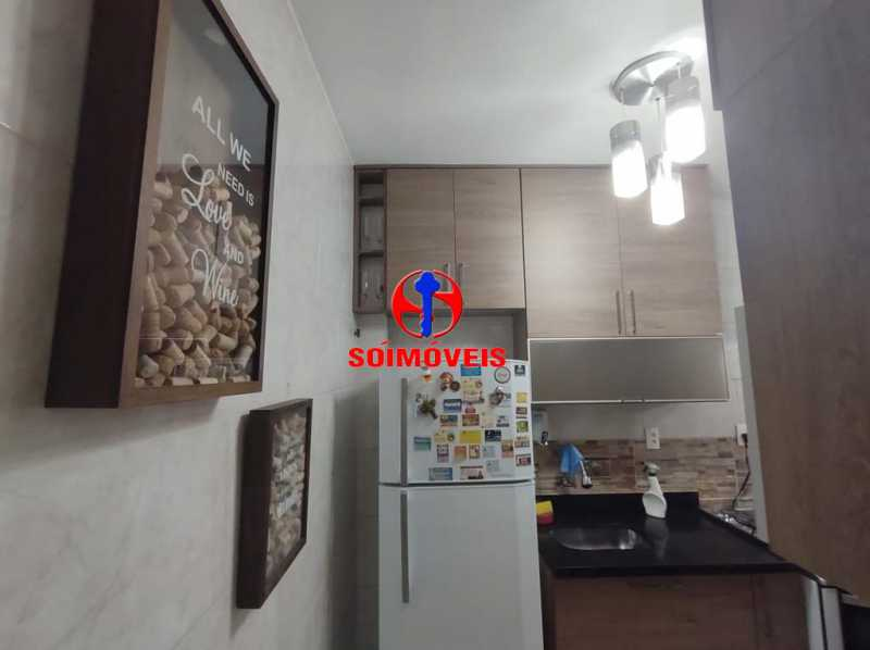 COZINHA - Apartamento 2 quartos à venda Grajaú, Rio de Janeiro - R$ 380.000 - TJAP21183 - 6