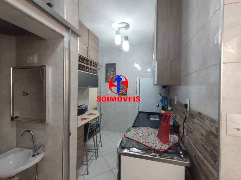 COZINHA - Apartamento 2 quartos à venda Grajaú, Rio de Janeiro - R$ 380.000 - TJAP21183 - 7