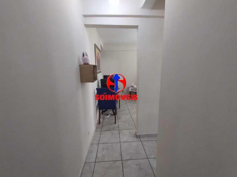 CORREDOR - Apartamento 2 quartos à venda Grajaú, Rio de Janeiro - R$ 380.000 - TJAP21183 - 8