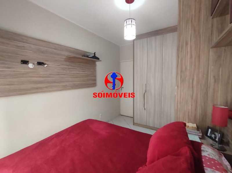QUARTO - Apartamento 2 quartos à venda Grajaú, Rio de Janeiro - R$ 380.000 - TJAP21183 - 10