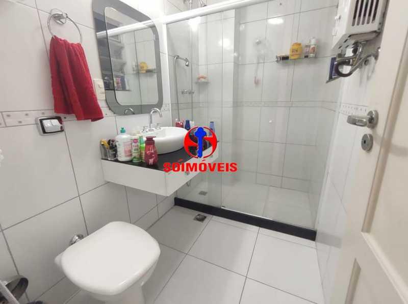 BANHEIRO SOCIAL - Apartamento 2 quartos à venda Grajaú, Rio de Janeiro - R$ 380.000 - TJAP21183 - 12