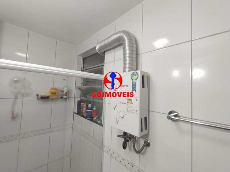 BANHEIRO SOCIAL - Apartamento 2 quartos à venda Grajaú, Rio de Janeiro - R$ 380.000 - TJAP21183 - 13