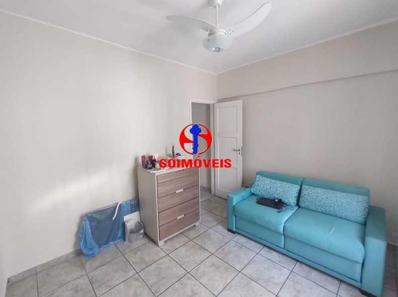 QUARTO - Apartamento 2 quartos à venda Grajaú, Rio de Janeiro - R$ 380.000 - TJAP21183 - 17