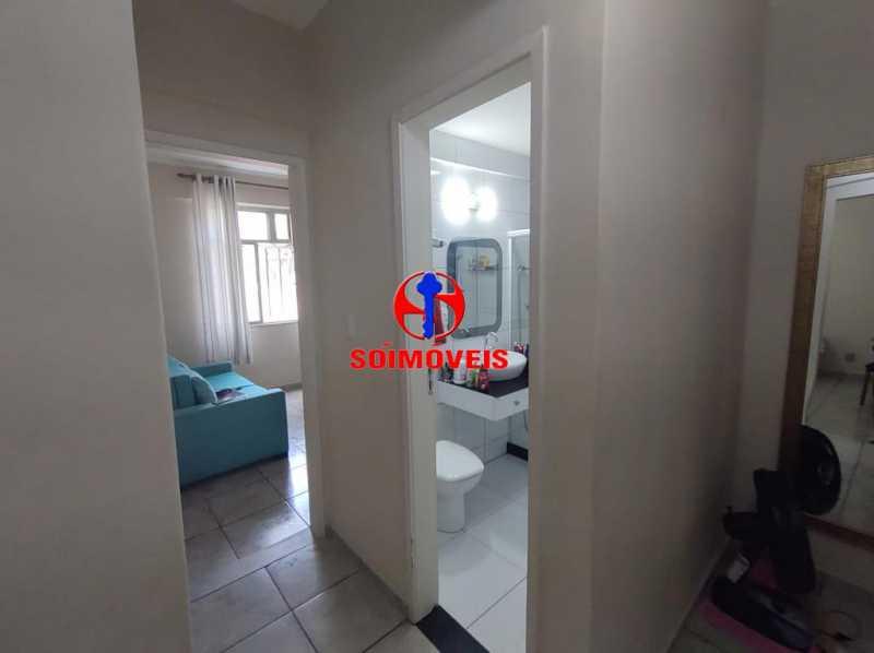 CIRCULAÇÃO - Apartamento 2 quartos à venda Grajaú, Rio de Janeiro - R$ 380.000 - TJAP21183 - 18
