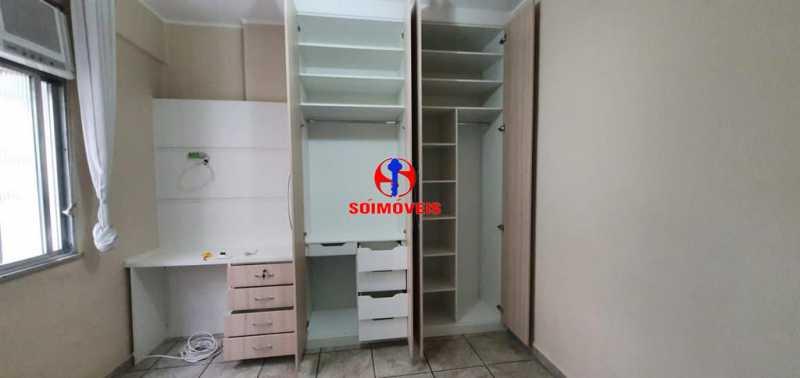 QUARTO - Apartamento 2 quartos à venda Grajaú, Rio de Janeiro - R$ 380.000 - TJAP21183 - 15