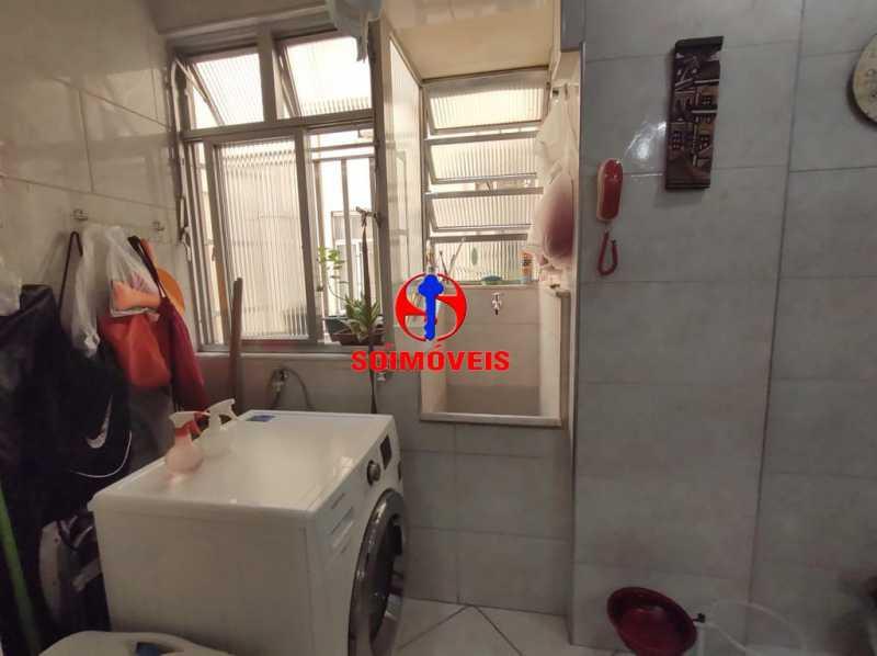 ÁREA DE SERVIÇO - Apartamento 2 quartos à venda Grajaú, Rio de Janeiro - R$ 380.000 - TJAP21183 - 19