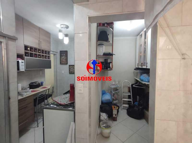 COZINHA E DEPENDÊNCIA - Apartamento 2 quartos à venda Grajaú, Rio de Janeiro - R$ 380.000 - TJAP21183 - 21