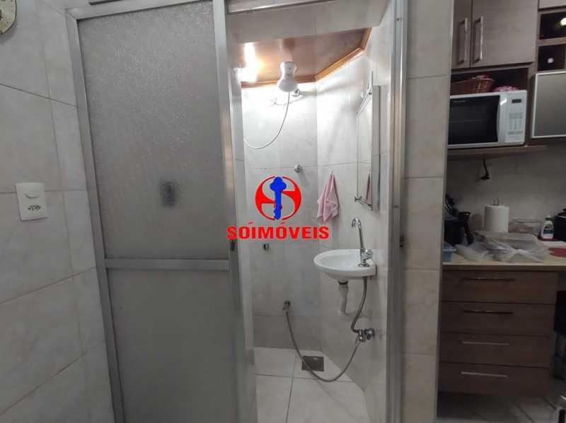 BANHEIRO DE SERVIÇO - Apartamento 2 quartos à venda Grajaú, Rio de Janeiro - R$ 380.000 - TJAP21183 - 22