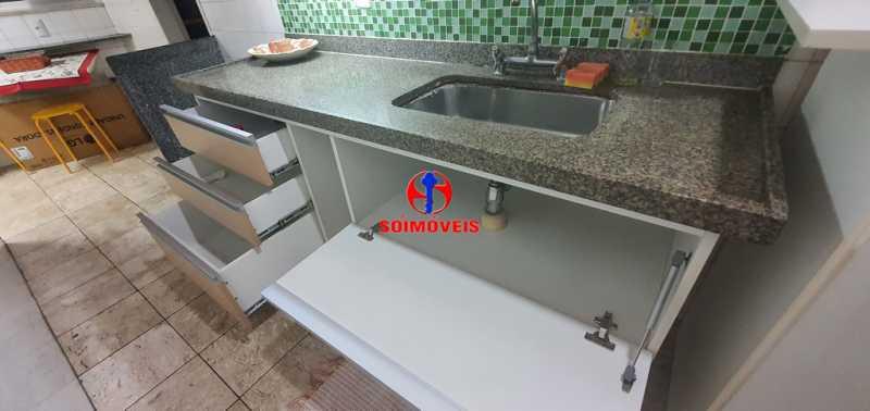 COZINHA - Apartamento 2 quartos à venda Méier, Rio de Janeiro - R$ 310.000 - TJAP21185 - 8