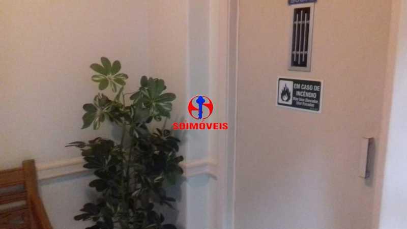 HALL DO PREDIO - Apartamento 1 quarto à venda Copacabana, Rio de Janeiro - R$ 450.000 - TJAP10264 - 3
