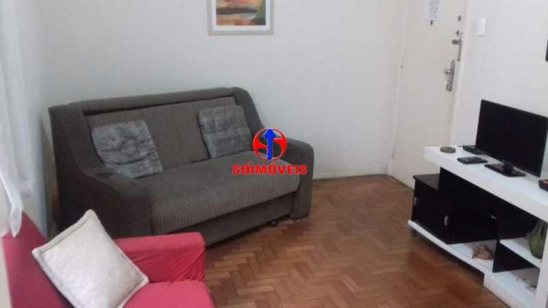 SALA - Apartamento 1 quarto à venda Copacabana, Rio de Janeiro - R$ 450.000 - TJAP10264 - 5