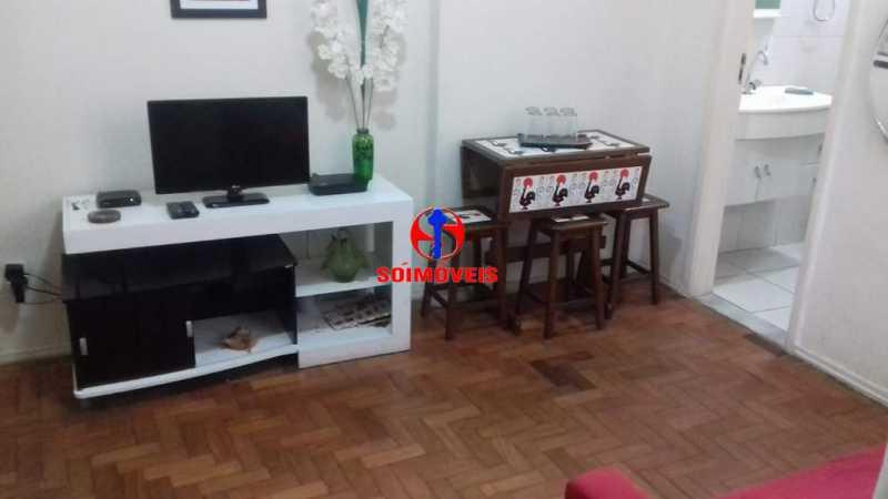 SALA - Apartamento 1 quarto à venda Copacabana, Rio de Janeiro - R$ 450.000 - TJAP10264 - 6