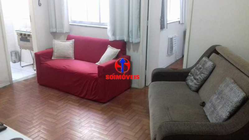 SALA - Apartamento 1 quarto à venda Copacabana, Rio de Janeiro - R$ 450.000 - TJAP10264 - 7