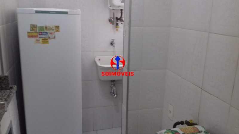 COZINHA E ÁREA DE SERVIÇO - Apartamento 1 quarto à venda Copacabana, Rio de Janeiro - R$ 450.000 - TJAP10264 - 14
