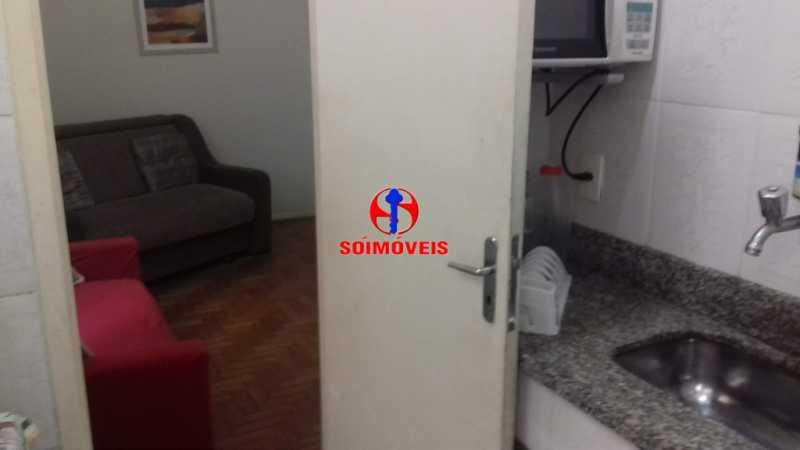 COZINHA E ÁREA DE SERVIÇO - Apartamento 1 quarto à venda Copacabana, Rio de Janeiro - R$ 450.000 - TJAP10264 - 15