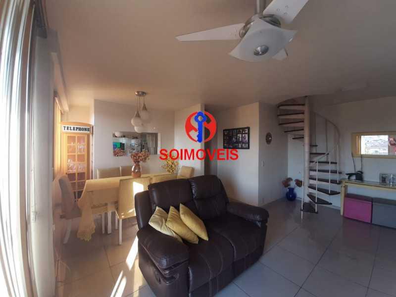 1-sl - Cobertura 2 quartos à venda Riachuelo, Rio de Janeiro - R$ 422.000 - TJCO20025 - 3