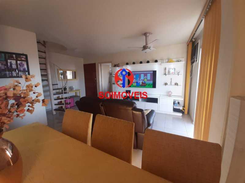 1-sl2 - Cobertura 2 quartos à venda Riachuelo, Rio de Janeiro - R$ 422.000 - TJCO20025 - 6