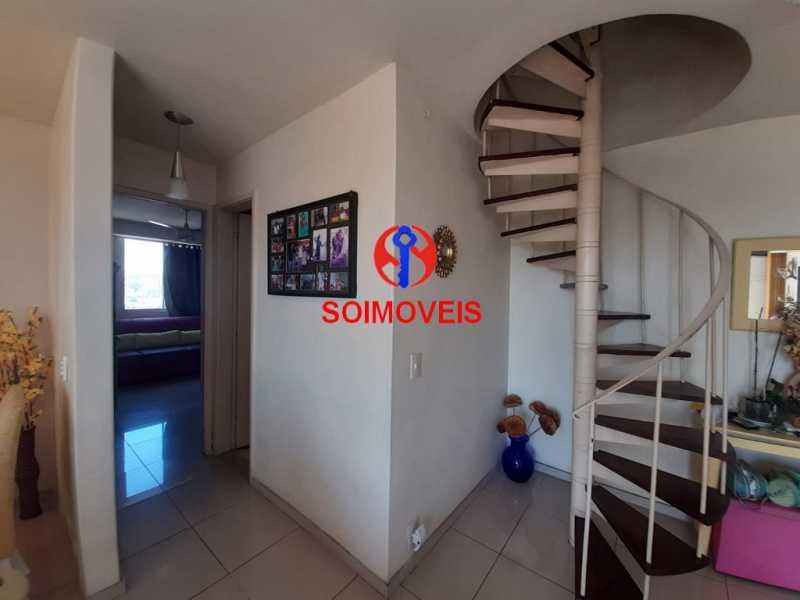 1-sl3 - Cobertura 2 quartos à venda Riachuelo, Rio de Janeiro - R$ 422.000 - TJCO20025 - 7