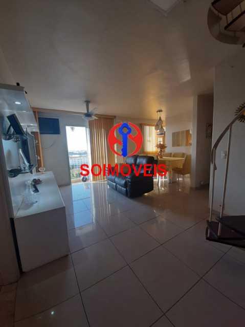 1-sl5 - Cobertura 2 quartos à venda Riachuelo, Rio de Janeiro - R$ 422.000 - TJCO20025 - 1