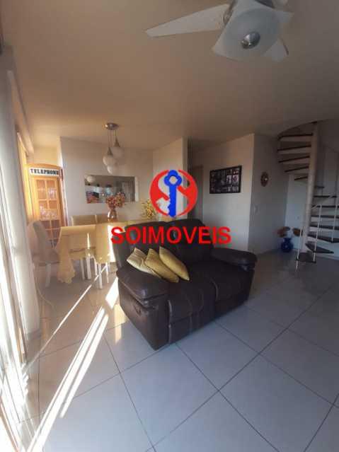 1-sl7 - Cobertura 2 quartos à venda Riachuelo, Rio de Janeiro - R$ 422.000 - TJCO20025 - 4