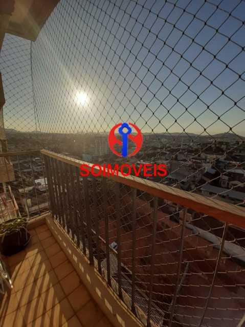 1-visvar - Cobertura 2 quartos à venda Riachuelo, Rio de Janeiro - R$ 422.000 - TJCO20025 - 11