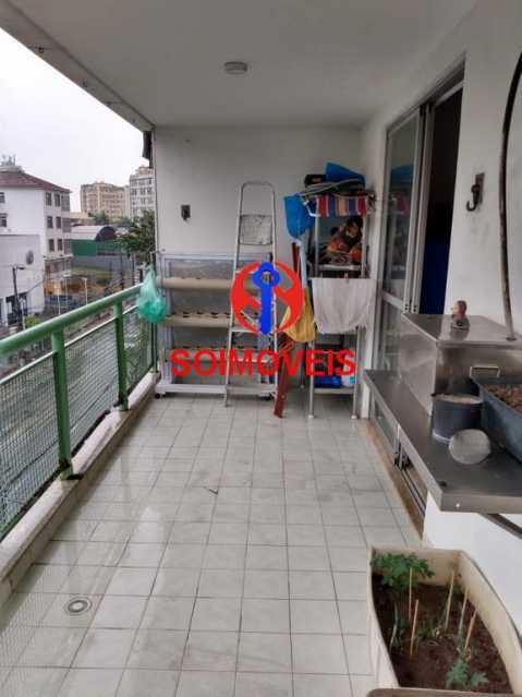 Varanda - Apartamento 3 quartos à venda São Francisco Xavier, Rio de Janeiro - R$ 450.000 - TJAP30539 - 20