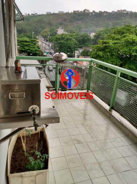 Varanda - Apartamento 3 quartos à venda São Francisco Xavier, Rio de Janeiro - R$ 450.000 - TJAP30539 - 21