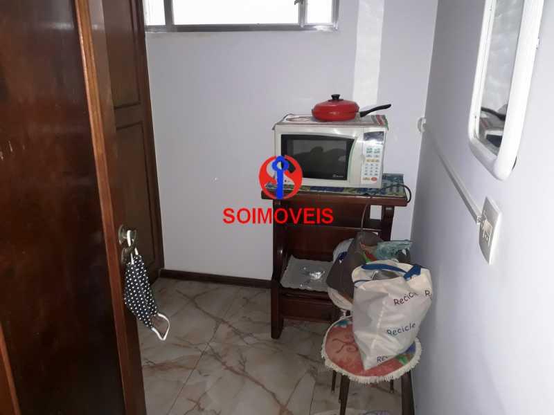 dep - Apartamento 3 quartos à venda Copacabana, Rio de Janeiro - R$ 890.000 - TJAP30545 - 21