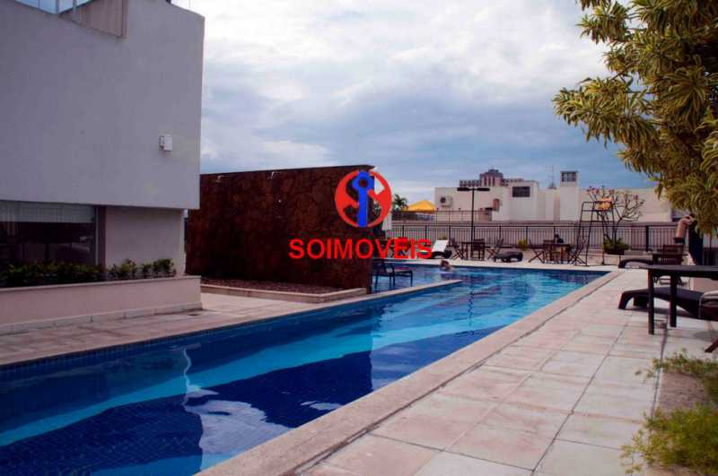 5-pisc4 - Apartamento 1 quarto à venda São Cristóvão, Rio de Janeiro - R$ 395.000 - TJAP10270 - 20