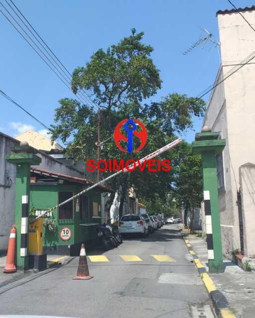 Entrada  - Casa em Condomínio 4 quartos à venda Maracanã, Rio de Janeiro - R$ 900.000 - TJCN40006 - 1