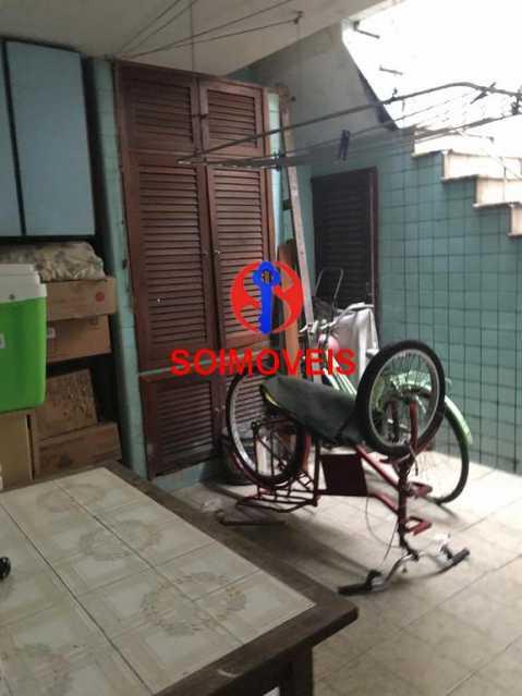 Área  - Casa em Condomínio 4 quartos à venda Maracanã, Rio de Janeiro - R$ 900.000 - TJCN40006 - 24