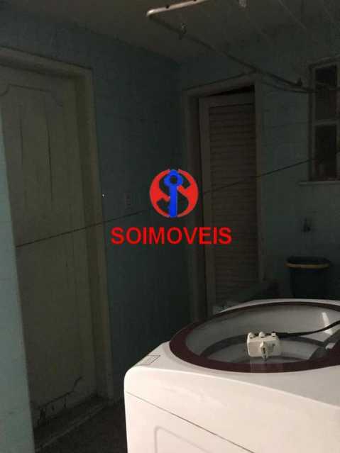 Área com quarto e banheiro - Casa em Condomínio 4 quartos à venda Maracanã, Rio de Janeiro - R$ 900.000 - TJCN40006 - 25