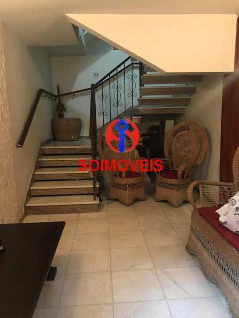 Hall 1º andar - Casa em Condomínio 4 quartos à venda Maracanã, Rio de Janeiro - R$ 900.000 - TJCN40006 - 3