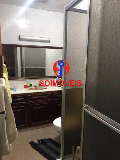 Banheiro social 2º andar - Casa em Condomínio 4 quartos à venda Maracanã, Rio de Janeiro - R$ 900.000 - TJCN40006 - 15