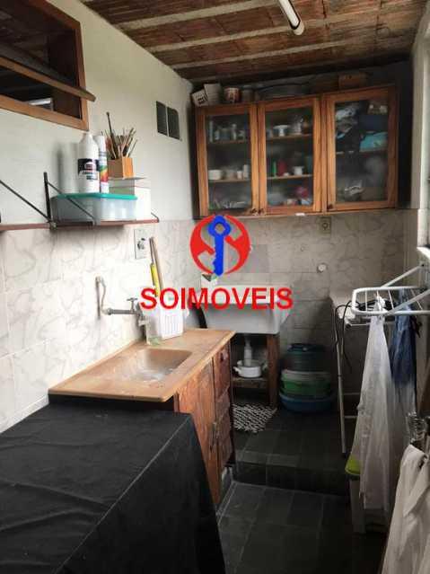 Cozinha do terraço - Casa em Condomínio 4 quartos à venda Maracanã, Rio de Janeiro - R$ 900.000 - TJCN40006 - 19