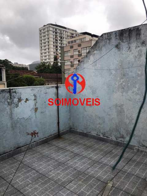Terraço - Casa em Condomínio 4 quartos à venda Maracanã, Rio de Janeiro - R$ 900.000 - TJCN40006 - 21