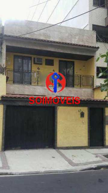 Fachada - Casa 4 quartos à venda Cachambi, Rio de Janeiro - R$ 690.000 - TJCA40034 - 1