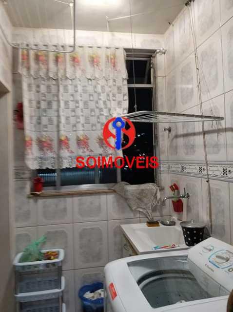 Área de serviço - Apartamento 1 quarto à venda Vila Isabel, Rio de Janeiro - R$ 230.000 - TJAP10273 - 25