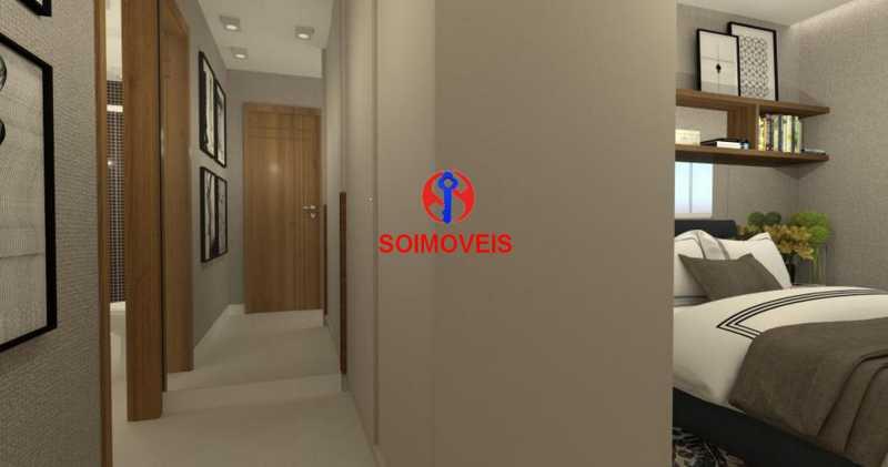 Suite 01 - Casa de Vila 5 quartos à venda Tijuca, Rio de Janeiro - R$ 1.150.000 - TJCV50003 - 15